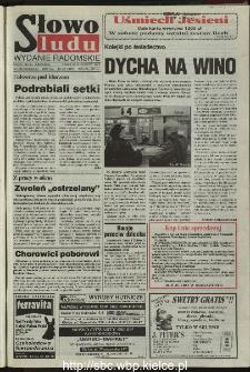 Słowo Ludu 1995, XLV, nr 271 (radomskie)