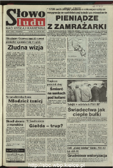 Słowo Ludu 1995, XLV, nr 275 (Nad Wisłą i Kamienną)