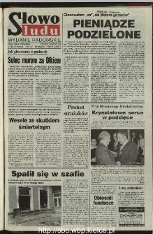 Słowo Ludu 1995, XLV, nr 275 (radomskie)