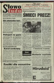 Słowo Ludu 1995, XLV, nr 276 (radomskie)