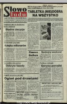 Słowo Ludu 1995, XLV, nr 280 (Nad Wisłą i Kamienną)