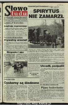 Słowo Ludu 1995, XLV, nr 281 (radomskie)