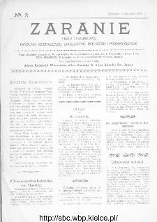Zaranie : pismo tygodniowe ogólno-kształcące, społeczne, rolnicze i przemysłowe 1914, nr 2