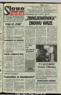 Słowo Ludu 1995, XLV, nr 282 (radomskie)