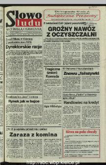Słowo Ludu 1995, XLV, nr 283 (Nad Wisłą i Kamienną)