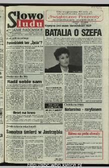 Słowo Ludu 1995, XLV, nr 283 (radomskie)