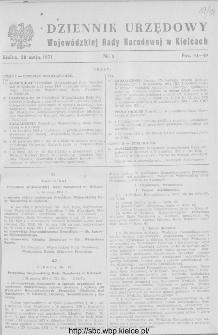 Dziennik Urzędowy Wojewódzkiej Rady Narodowej w Kielcach 1951, nr 5