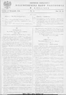 Dziennik Urzędowy Wojewódzkiej Rady Narodowej w Kielcach 1952, nr 12