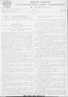 Dziennik Urzędowy Wojewódzkiej Rady Narodowej w Kielcach 1952, nr 13