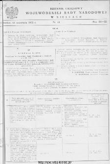 Dziennik Urzędowy Wojewódzkiej Rady Narodowej w Kielcach 1955, nr 10