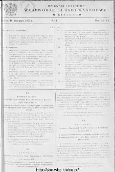 Dziennik Urzędowy Wojewódzkiej Rady Narodowej w Kielcach 1957, nr 8
