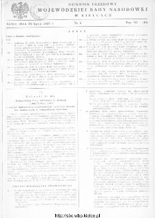 Dziennik Urzędowy Wojewódzkiej Rady Narodowej w Kielcach 1958, nr 6