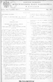 Dziennik Urzędowy Wojewódzkiej Rady Narodowej w Kielcach 1958, nr 11
