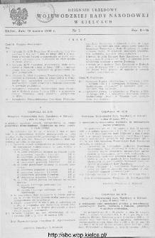 Dziennik Urzędowy Wojewódzkiej Rady Narodowej w Kielcach 1959, nr 3