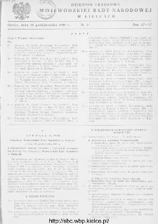Dziennik Urzędowy Wojewódzkiej Rady Narodowej w Kielcach 1959, nr 11