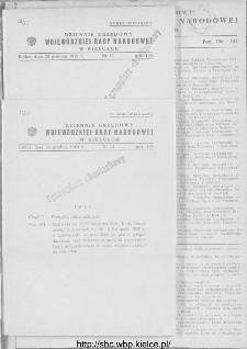 Dziennik Urzędowy Wojewódzkiej Rady Narodowej w Kielcach 1959, nr 14