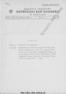 Dziennik Urzędowy Wojewódzkiej Rady Narodowej w Kielcach 1959, nr 15