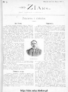 Ziarno : pismo tygodniowe ilustrowane 1902, nr 3