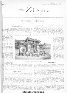 Ziarno : pismo tygodniowe ilustrowane 1902, nr 4