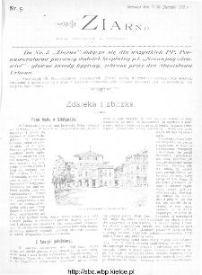 Ziarno : pismo tygodniowe ilustrowane 1902, nr 5