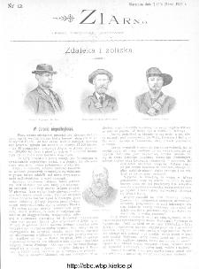 Ziarno : pismo tygodniowe ilustrowane 1902, nr 12