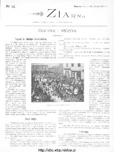 Ziarno : pismo tygodniowe ilustrowane 1902, nr 25