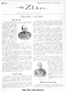 Ziarno : pismo tygodniowe ilustrowane 1902, nr 27