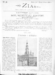 Ziarno : pismo tygodniowe ilustrowane 1902, nr 36