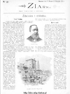 Ziarno : pismo tygodniowe ilustrowane 1902, nr 37