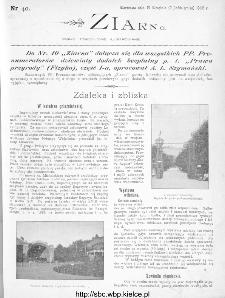 Ziarno : pismo tygodniowe ilustrowane 1902, nr 40