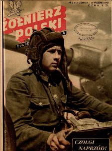 Żołnierz Polski : tygodnik ilustrowany : organ Ministerstwa Obrony Narodowej, 1945, nr 2