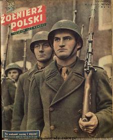Żołnierz Polski : tygodnik ilustrowany : organ Ministerstwa Obrony Narodowej, 1945, nr 12