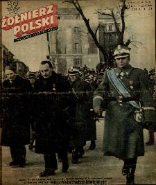 Żołnierz Polski : tygodnik ilustrowany : organ Ministerstwa Obrony Narodowej, 1946 nr 5