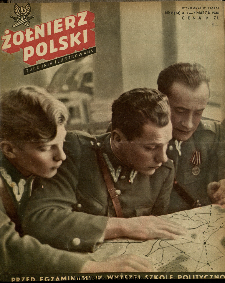 Żołnierz Polski : tygodnik ilustrowany : organ Ministerstwa Obrony Narodowej, 1946 nr 8