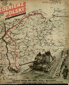 Żołnierz Polski : tygodnik ilustrowany : organ Ministerstwa Obrony Narodowej, 1946 nr 13