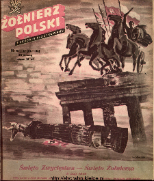 Żołnierz Polski : tygodnik ilustrowany : organ Ministerstwa Obrony Narodowej, 1946 nr 16-17