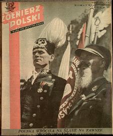 Żołnierz Polski : tygodnik ilustrowany : organ Ministerstwa Obrony Narodowej, 1946 nr 20