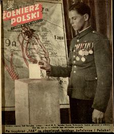 Żołnierz Polski : tygodnik ilustrowany : organ Ministerstwa Obrony Narodowej, 1946 nr 24