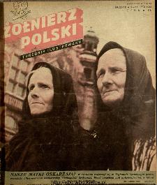 Żołnierz Polski : tygodnik ilustrowany : organ Ministerstwa Obrony Narodowej, 1946 nr 25