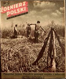 Żołnierz Polski : tygodnik ilustrowany : organ Ministerstwa Obrony Narodowej, 1946 nr 29