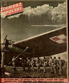 Żołnierz Polski : tygodnik ilustrowany : organ Ministerstwa Obrony Narodowej, 1946 nr 33