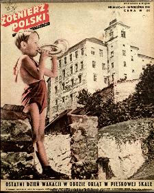 Żołnierz Polski : tygodnik ilustrowany : organ Ministerstwa Obrony Narodowej, 1946 nr 35