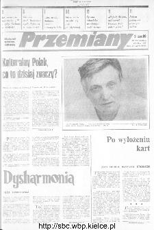 Przemiany : miesięcznik społeczno-kulturalny, 1989, R.20, marzec