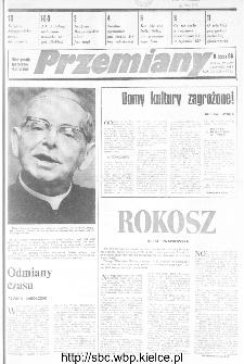 Przemiany : miesięcznik społeczno-kulturalny, 1989, R.20, czerwiec
