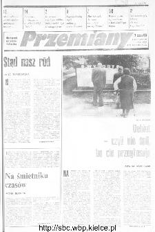 Przemiany : miesięcznik społeczno-kulturalny, 1989, R.20, lipiec
