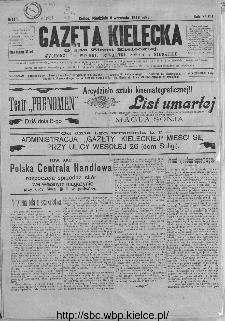 Gazeta Kielecka, 1918, R.49, nr 113