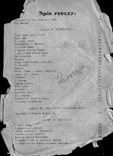 Kalendarz na rok zwyczajny 1929
