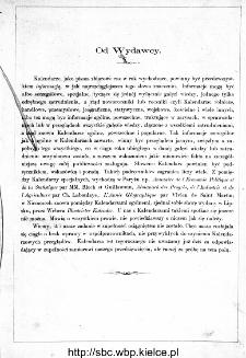 Jana Jaworskiego Kalendarz Polski Illustrowany na Rok Zwyczajny 1865