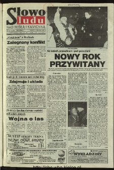 Słowo Ludu 1996, XLV, nr 1 (Nad Wisłą i Kamienną)