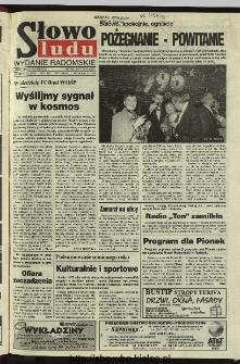 Słowo Ludu 1996, XLV, nr 1 (radomskie)